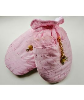 Mittens - Pink Anglaise