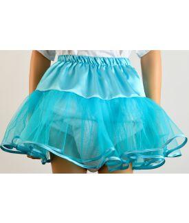 Aqua Blue Petticoat